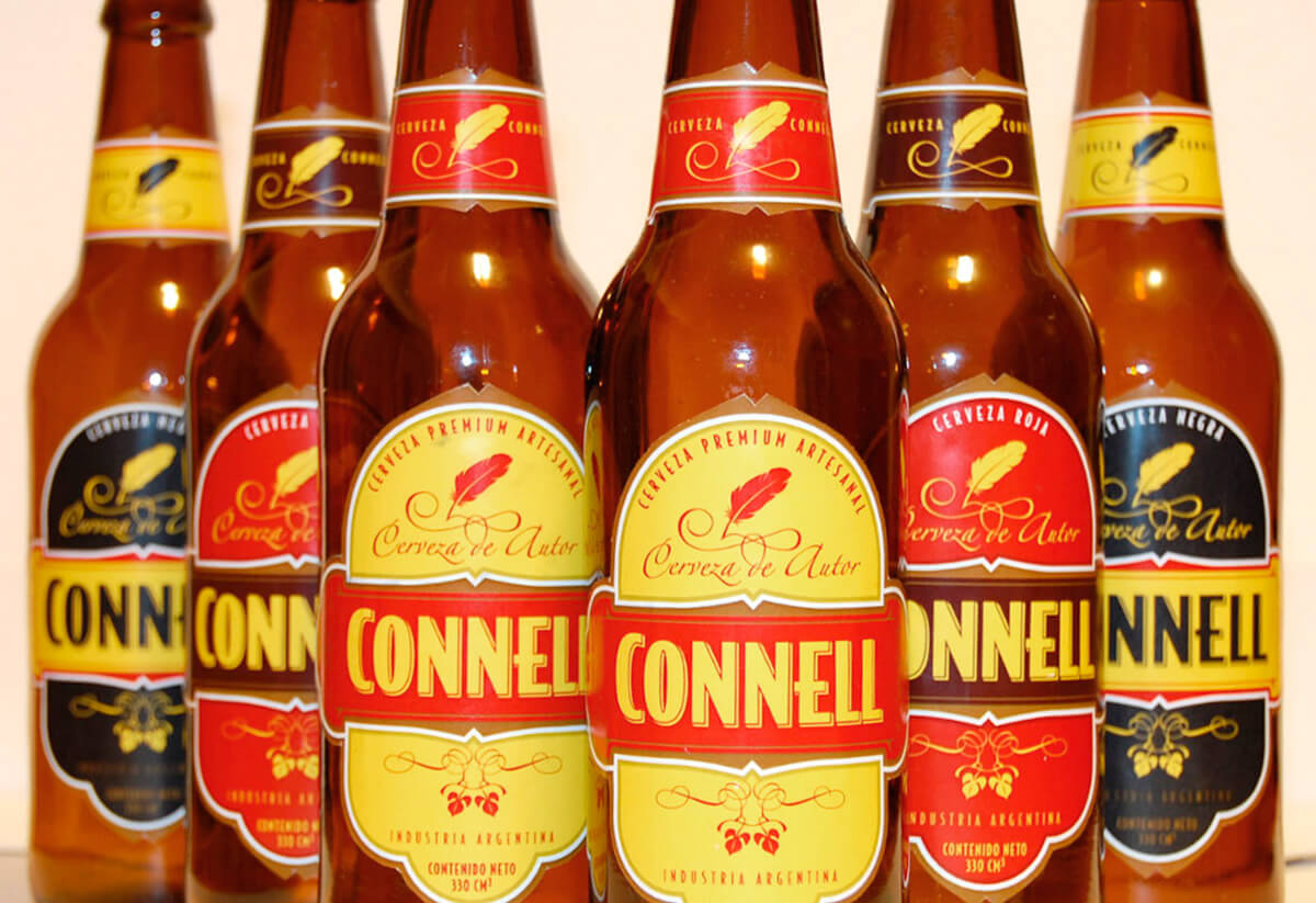 connell botellas. Identidad. Branding
