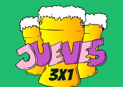 3×1 la cerveteca